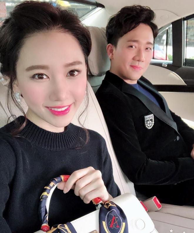 Hari Won mặc đẹp hơn, xách túi trăm triệu đồng sau khi cưới Trấn Thành