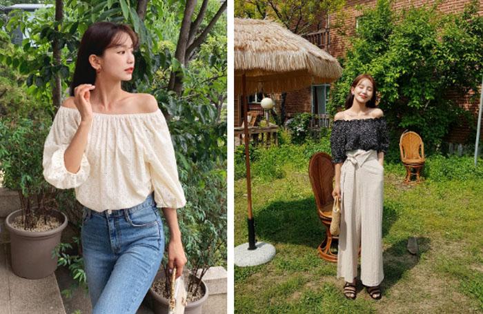 Học Hoa hậu Thu Thảo sắm áo blouse diện mùa Thu