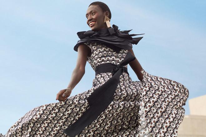 H&M lần đầu tiên ra mắt bộ sưu tập kết hợp với nhà thiết kế châu Phi