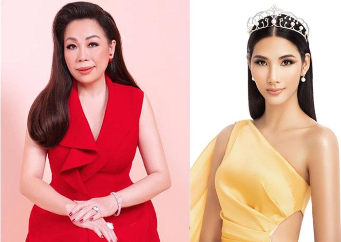 NTK Linh San trở thành giám khảo tuyển chọn quốc phục cho Hoàng Thùy tham gia Miss Universe 2019