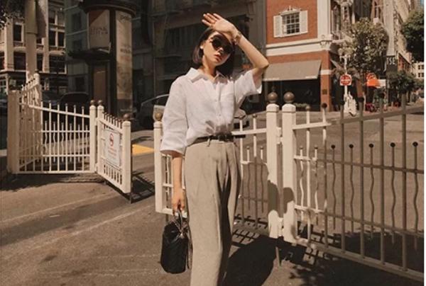 Những cách mặc quần ống suông dễ áp dụng cho nàng công sở