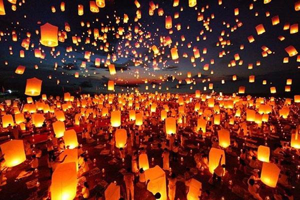 """Tháng 11, đến Thái Lan thả đèn trời như phim """"Công chúa tóc mây"""""""