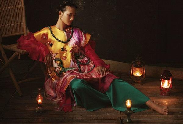 Á quân Quỳnh Anh 'The Face' hóa thân nàng Cám trong cổ tích