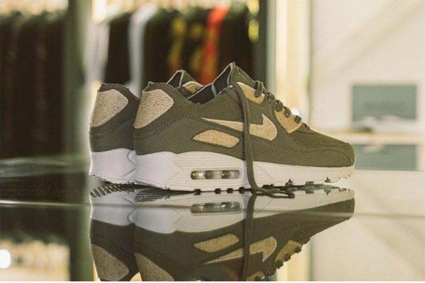 """Nike và Maharishi hợp tác ra mắt """"giày Vegan"""" nhuộm màu tự nhiên, làm từ mùn cưa"""