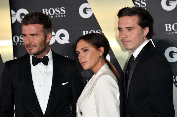 Nhà Beckham hút mọi ống kính trên thảm đỏ Man Of The Years 2019