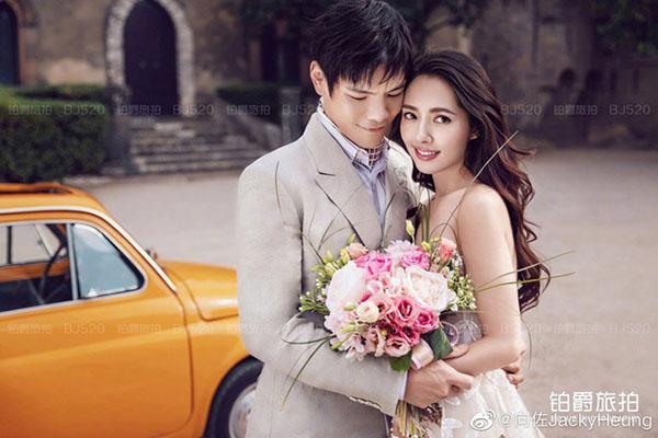 Sao Hoa ngữ khoe ảnh cưới lãng mạn tại châu Âu