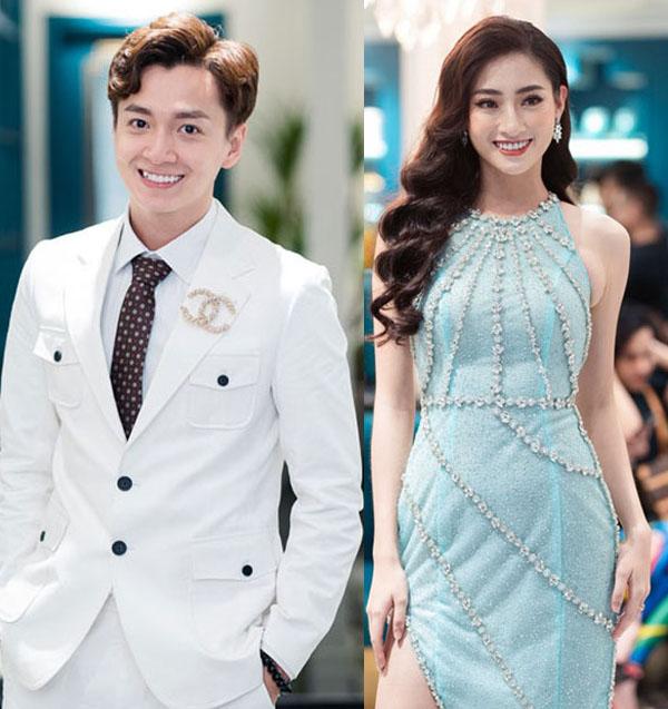 Ngô Kiến Huy diện vest trắng, Hoa Hậu Lương Thùy Linh khoe vẻ đẹp nhẹ nhàng dự sự kiện