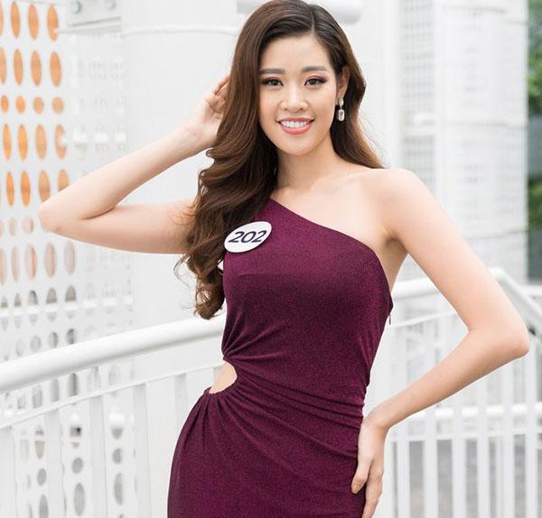 Khánh Vân tự tin chinh phục Miss Universe Vietnam