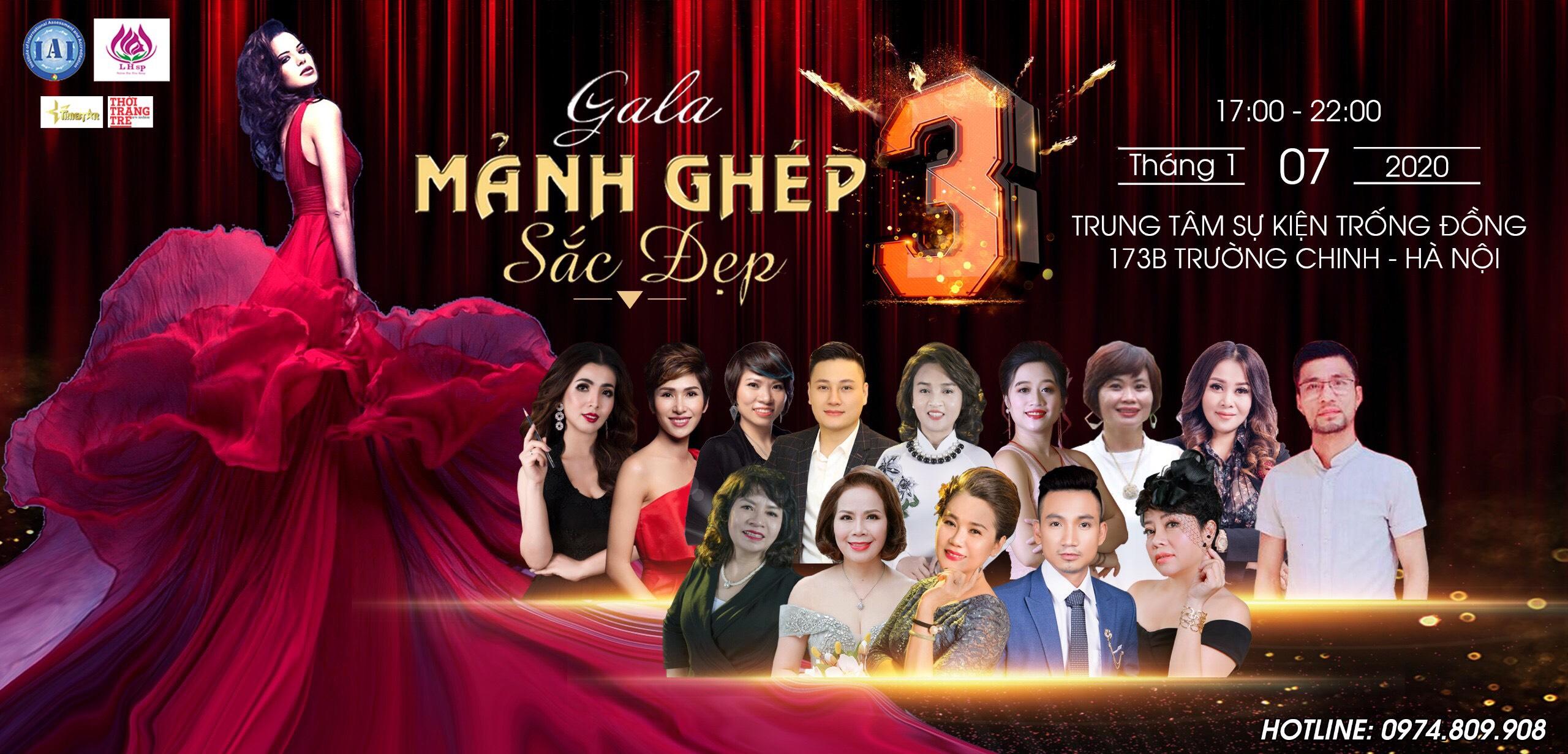 """Gala Mảnh Ghép Sắc Đẹp 3 """"Tôn vinh thương hiệu Việt"""" bắt đầu khởi động"""