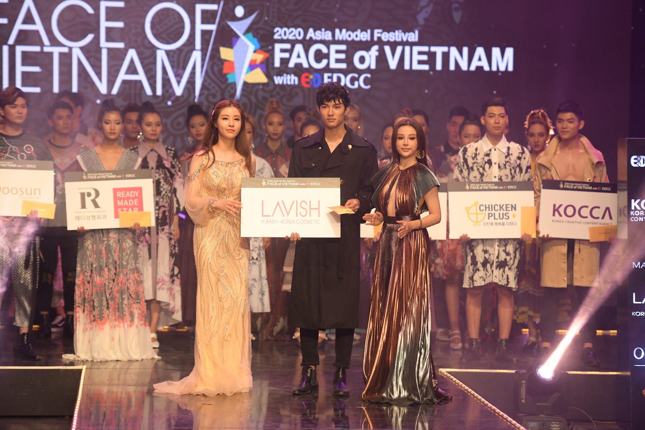 Mỹ nhân Ngọc Huyền đồng hành với Face Of Việt Nam