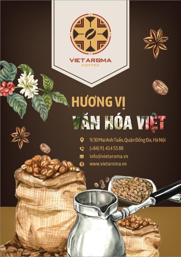 Vị cà phê mang tên Viet Aroma Coffee đã có mặt tại Hà Nội