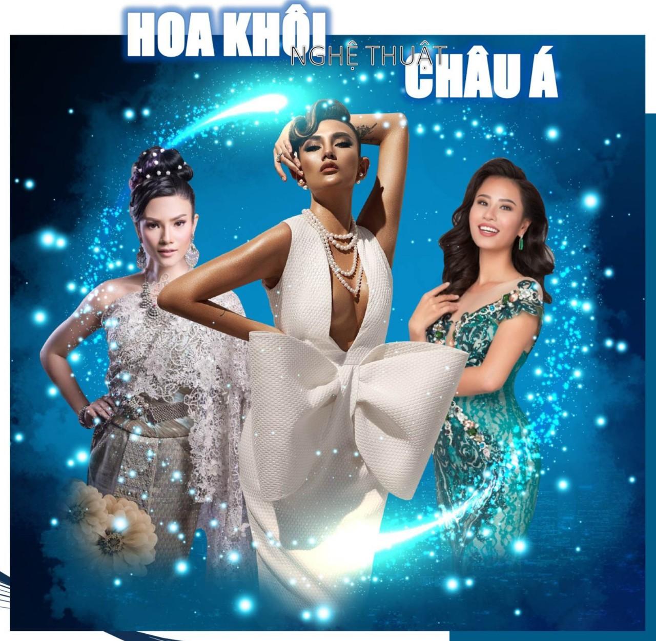 Hoa khôi nghệ thuật châu Á 2020 – Dàn sao Việt và quốc tế đồng hành…