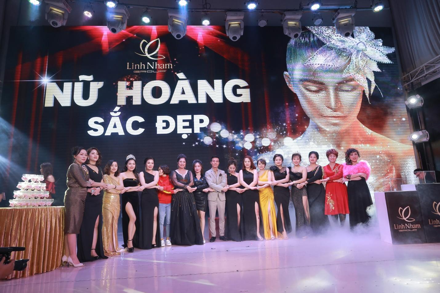 """Linh Nhâm Group – Tưng bừng đại tiệc """"Nữ hoàng sắc đẹp"""""""