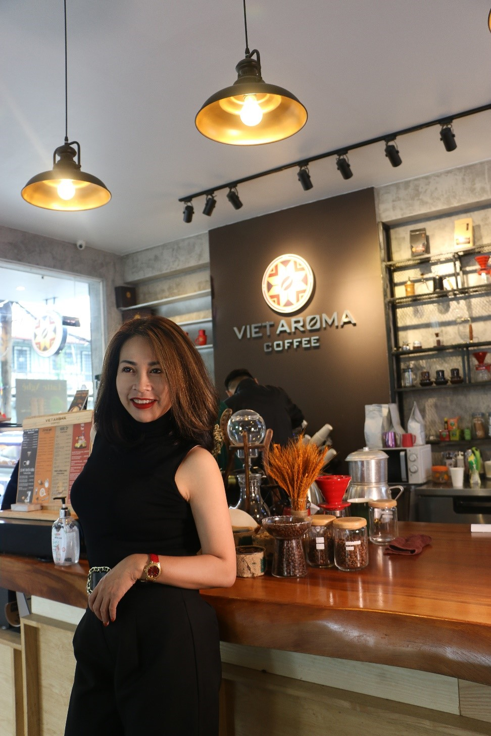 CEO Hoàng Mai – Cà phê tình yêu của tôi