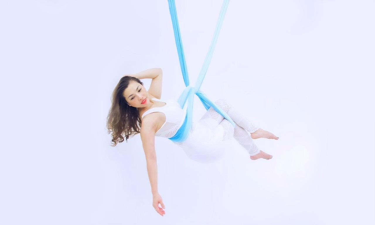 Giảng viên yoga bay Mai Anh Đỗ- Ước mơ cháy mãi cùng Yoga