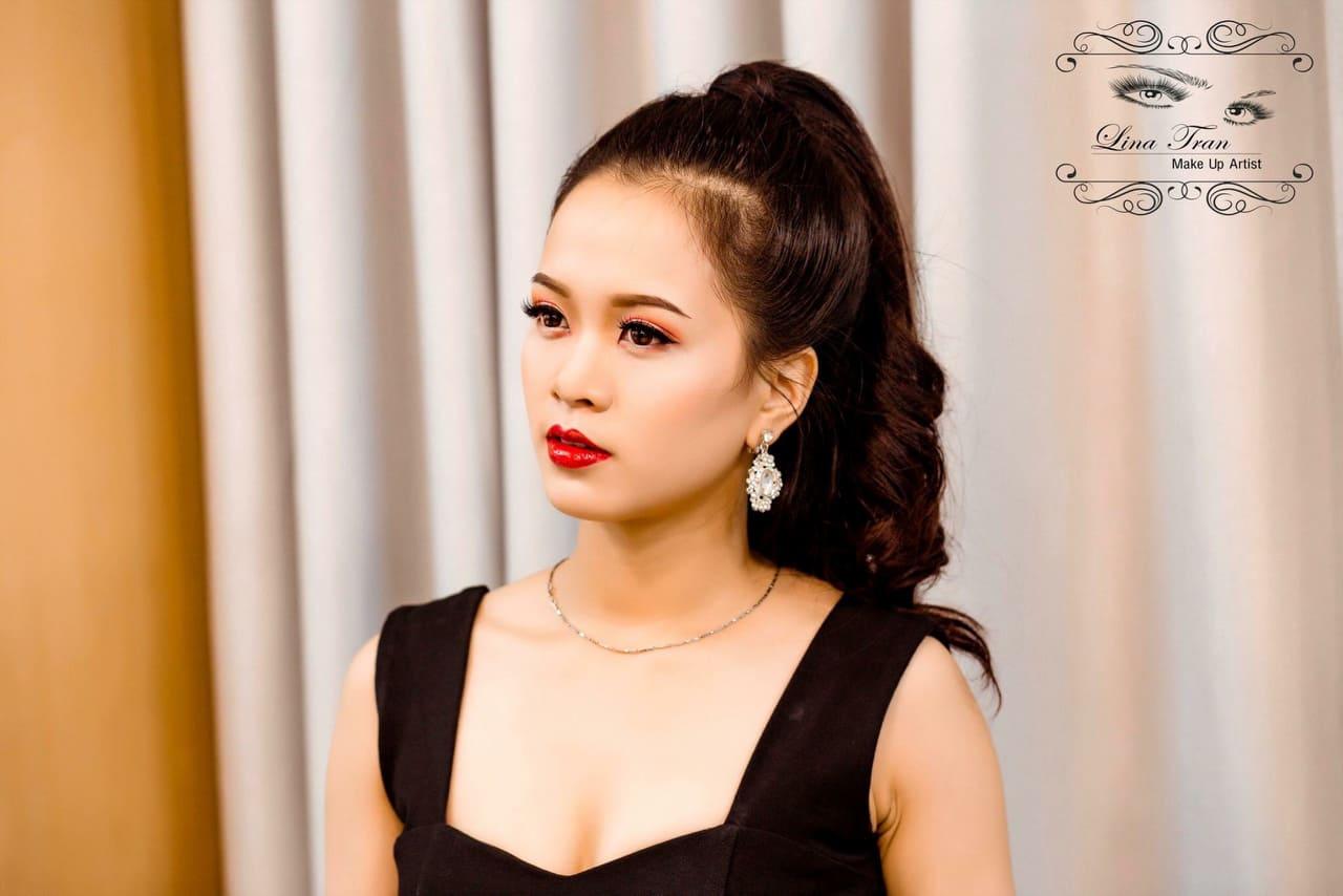 Lina Trần Make Up Artist – chính thức đồng hành cùng Miss Yoga Việt Nam 2021