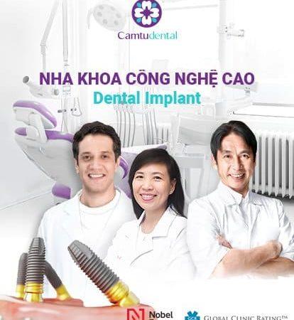 """CAMTU Dental – công thức """" Nụ cười của cuộc sống"""""""