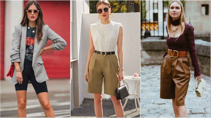 """Outfit """"suit shorts"""" vừa thoải mái lại vô cùng hack tuổi"""