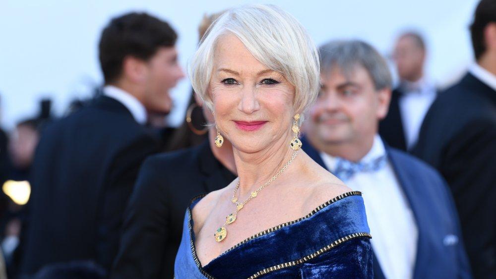 Gu thời trang cực phẩm của mỹ nhân tóc bạc Helen Mirren