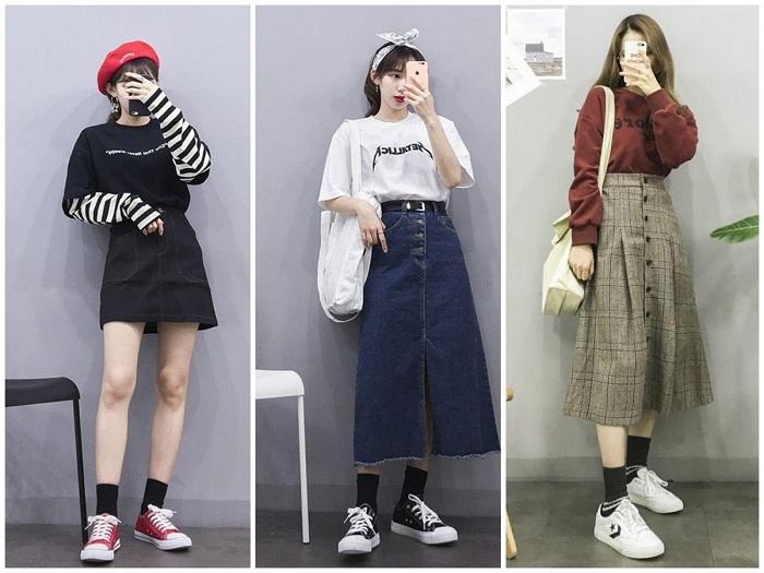 Những mẫu chân váy nhất định phải có trong tủ đồ mùa thu của cô nàng sành mặc