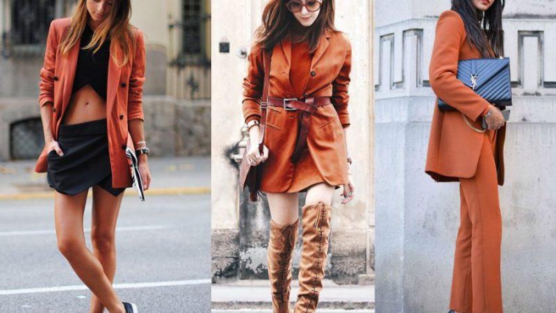Diện trang phục màu cam cho mùa thu thêm rực rỡ
