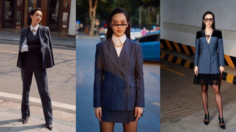 """Suit, váy áo mùa thu đậm chất office chic """"đốn tim"""" quý cô công sở"""