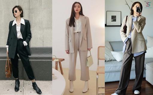 Không cần đầm dạ hội, sao nữ vẫn chiếm spotlight với blazer phối cùng quần ống loe
